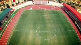 Çanakkale 18 Mart Stadyumu'nun Havadan Çekilen Fotoğrafı