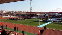 Çanakkale 18 Mart Stadyumu'nda Düzenlenen Bir Tören