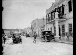 1919 Yılı. Çanakkale Kordon Boyu. Karşıda Necippaşa Camii