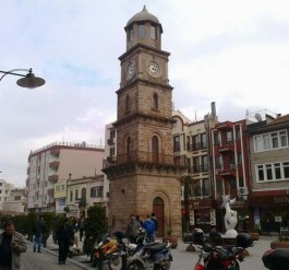 1897 Yılında İtalyan Konsolosu Vitalis Tarafından Yaptırılan Çanakkale Saat Kulesi