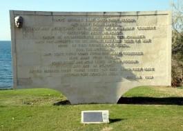 Anzak Koyunda Yer Alan Atatürk'ün Sözlerinin Bulunduğu Anıt