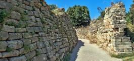 Troia Antik Kentinden Genel Görünüm