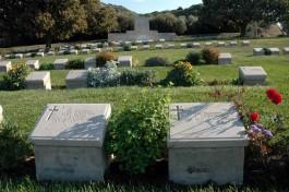 Anzak Koyundaki Temsili Mezarlar