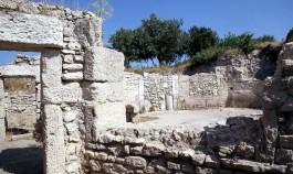 Ezine İlçesine Bağlı Dalyan Köyü Yakınlarındaki Alexandria Troas Antik Kenti