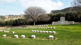 Anzak Koyu'ndaki Mezarlıklar