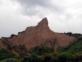 Anzak Koyu'nda Yer Alan Sfenks Şeklindeki Dağ