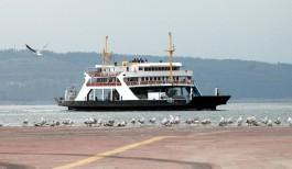 Çanakkale-Eceabat Arasında Sefer Yapan Arabalı Vapur