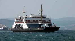 Çanakkale-Eceabat Hattında Sefer Yapan Feribot