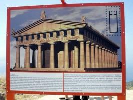 Assos Antik Kentindeki Athena Tapınağının Binlerce Yıl Önceki Hali