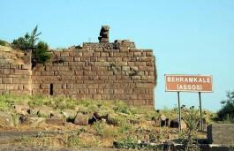 Behramkale ve Assos Antik Kentinin Görünümü