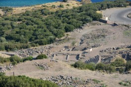 Assos Antik Kentindeki Kalıntılar