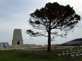 Gelibolu Yarımadası'nda Kanlısırt Mevkiinde Yer Alan Avustralya Anıtından Bir Görünüm