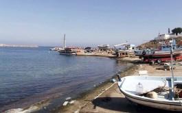 Bozcaada'daki Balıkçı Tekneleri