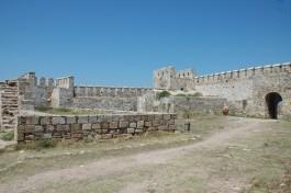 Bozcaada Kalesi'nin İçi