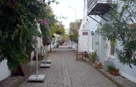 Bozcaada'da Sokaklar