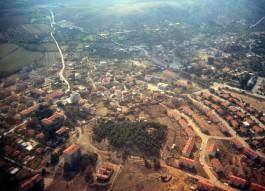 Bozcaada'nın Havadan Görünümü
