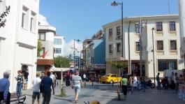 Çanakkale Çarşı Caddesinden Genel Görünüm