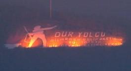 Çanakkale'nin Sembolü 'Dur Yolcu' Yazısı