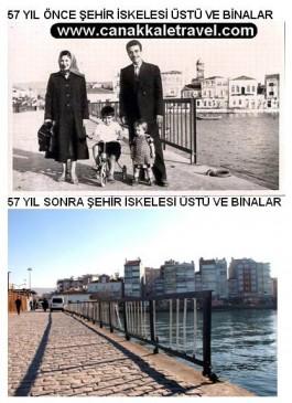 57 Yıl Önce ve Sonra Şehir İskelesinin Bulunduğu Bölge