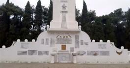 Gelibolu Yarımadası'ndaki Fransız Anıtı'ndan Bir Görünüm