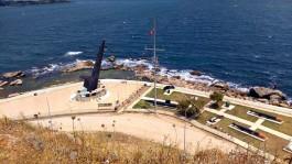 Gelibolu'daki Dumlupınar Denizaltı Anıtı