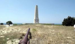 Gelibolu Yarımadası'ndaki Helles (İngiliz) Anıtı