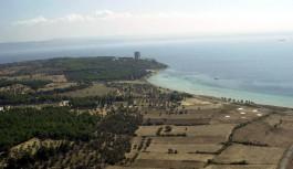 Morto Koyu ve Şehitler Abidesi'nin Havadan Görünümü