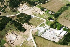 Parion Antik Kentinin Havadan Görünümü