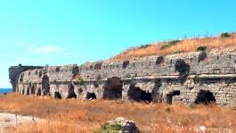 Seddülbahir Kalesi'nin Kalıntıları
