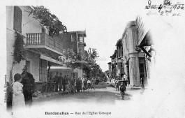 Çanakkale'de 2 Aralık 1906 Pazar Günü Çekilen Tarihi Bir Fotoğraf