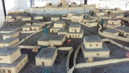 Troia Antik Kentinin Binlerce Yıl Önceki Halini Gösteren Maket