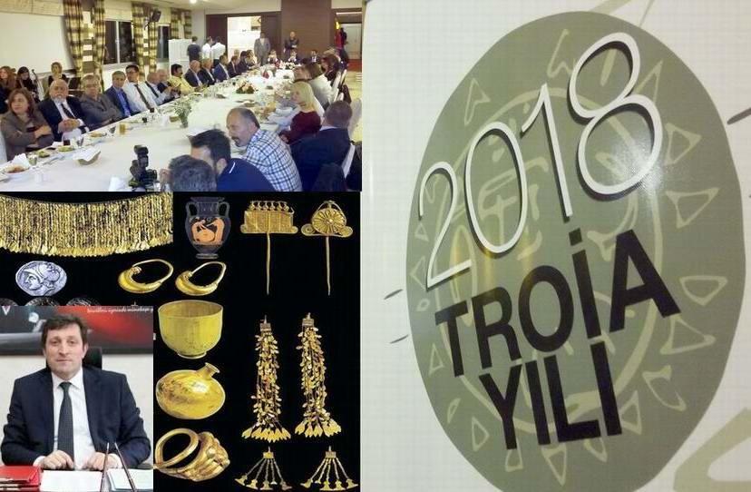 """""""Troia Hazinelerinin Gerçek Yeri Troia'dır"""""""