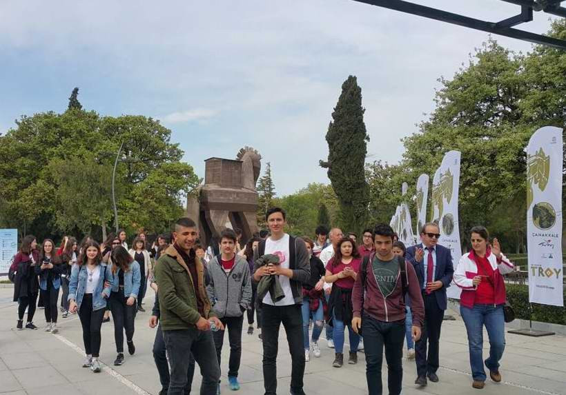 ÇTSO, Öğrencileri Troia İle Buluşturmaya Devam Ediyor