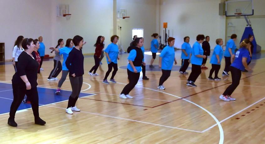 Haydi Çanakkaleli Kadınlar Ücretsiz Step-Aerobik Etkinliğine