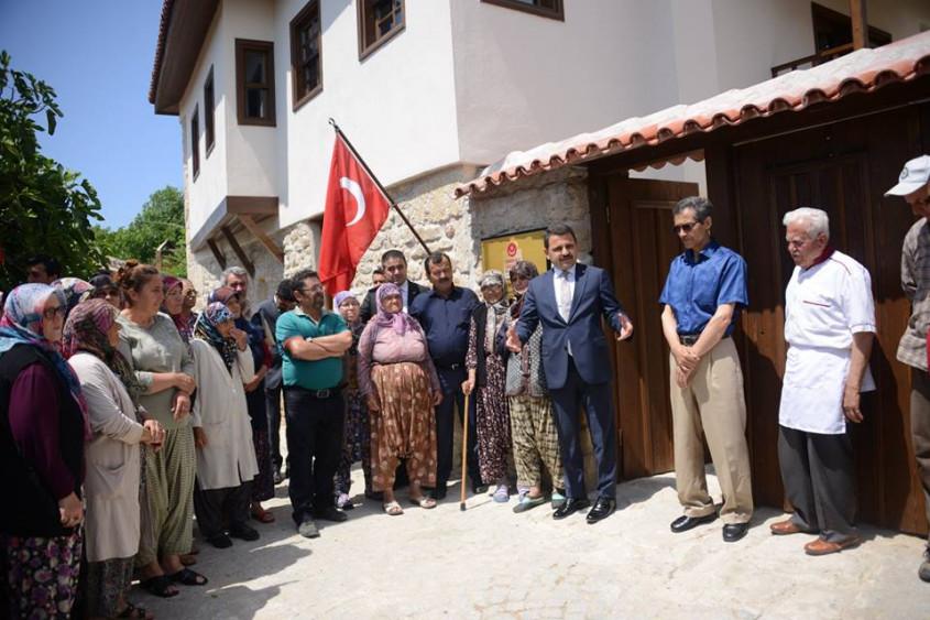 Restorasyonu Tamamlanan Atatürk Evi Ziyarete Açıldı