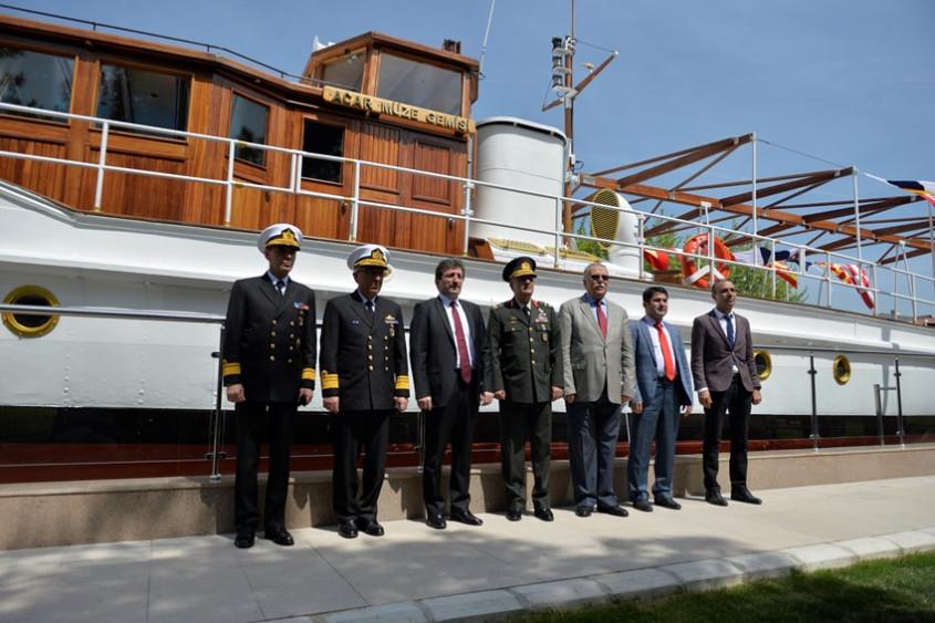 Atatürk'ün Gezi Teknesi Müze Olarak Ziyarete Açıldı