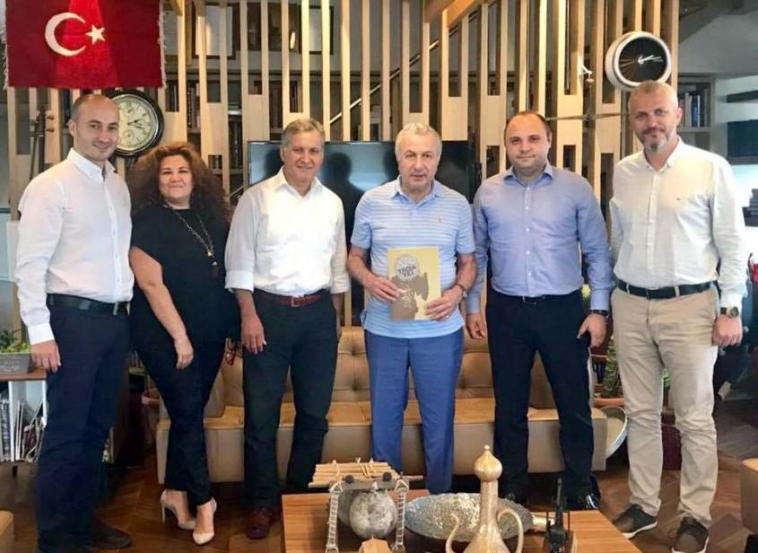2018 Troia Yılı Heyetinden TURSAB Başkanı Ulusoy'a Ziyaret