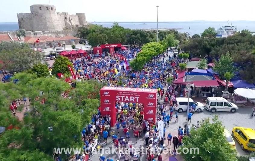 Binlerce Kişi Bozcaada'da Yarı Maratonda Koştu