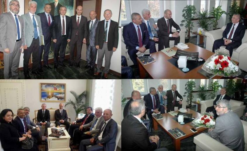 Çatod Yeni Yönetiminden Vali ve Emniyet Müdürüne Ziyaret