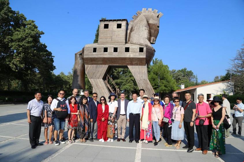 Çin Kültür ve Turizm Bakanı Çanakkale'de...