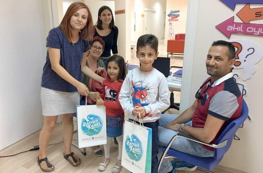 Çocuk Kültür Evi'nde 1000. Üye Sevinci