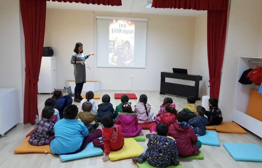 Çocuk Kültür Evi'nde Çocuk Kitapları Haftası Etkinliği Düzenlendi