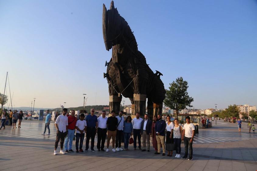 Hintli Gazeteciler Çanakkale'de