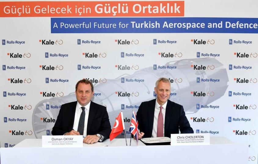 Kale Grubu Rolls-Royce İle Birlikte Uçak Motoru Üretecek