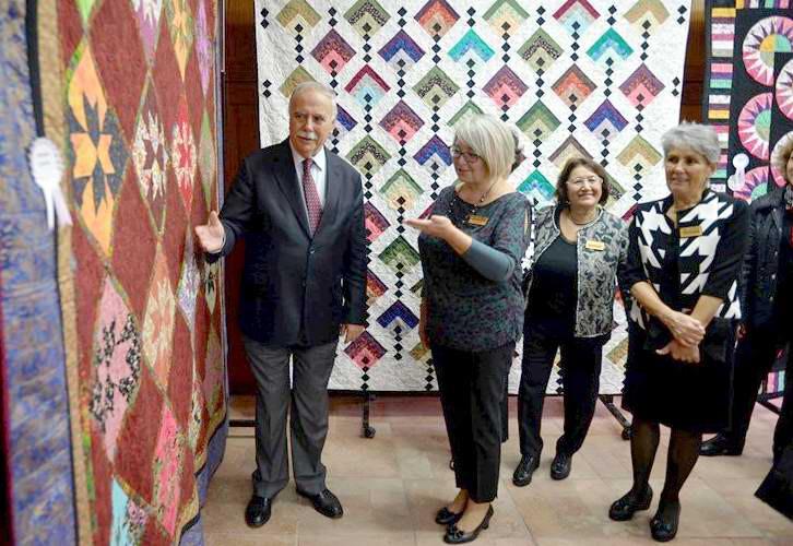 Kırkyama Derneği Sergisi ÇTSO Çanakkale Evi'nde Açıldı