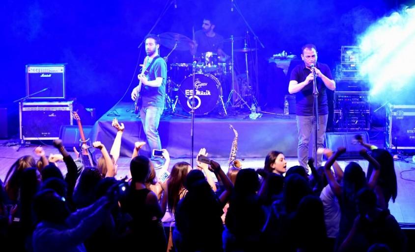 """Çanakkale'de """"Liselerarası Müzik Yarışması"""" Nefes Kesti"""
