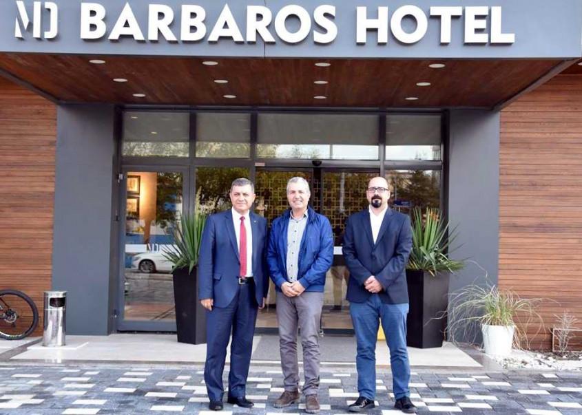 """Kemal Dokuz'dan """"MD Barbaros Hotel""""e Ziyaret"""