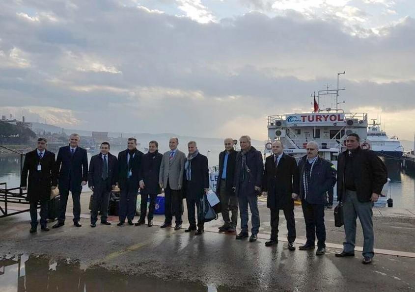 Çanakkaleli Turizmciler Midilli'ye Çıkarma Yaptı