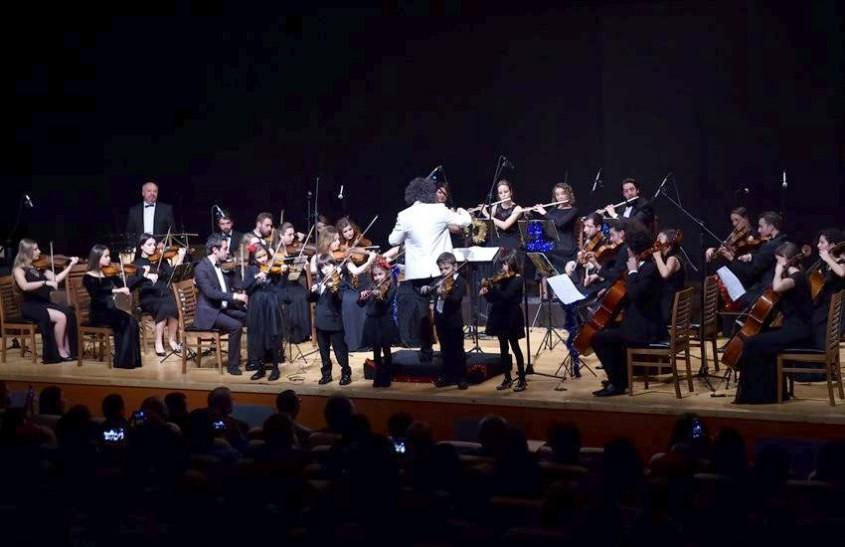 Çanakkale'de Miniklerin İlk Konser Heyecanı
