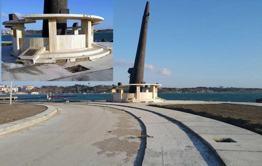Şehit Denizaltıcılar Anıtı Adına Yakışır Hale Getiriliyor